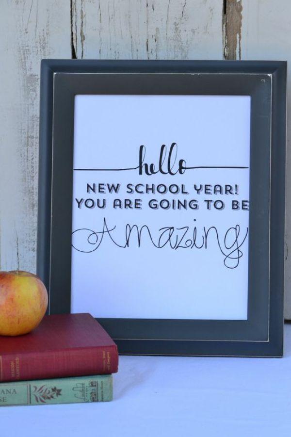 New School Year Amazing