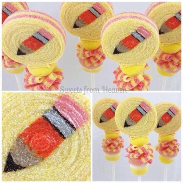 Sweets from Heaven, Orange Pencil Candy Bobs