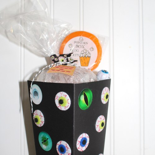 Everyday Party Magazine Popcorn Box Blog Hop Eyeball Double Crunch Recipe