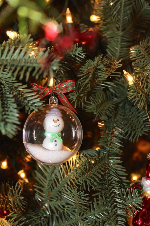 Everyday Party Magazine Gum Ball Snowman Ornaments DIY