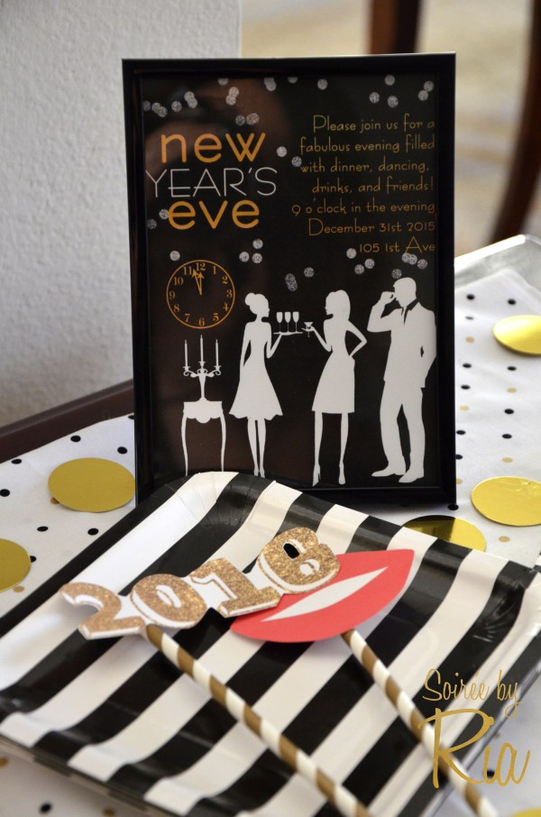 Everyday Party Magazine All That Glitters is Gold New Year's Eve Party by Soiree by Ria