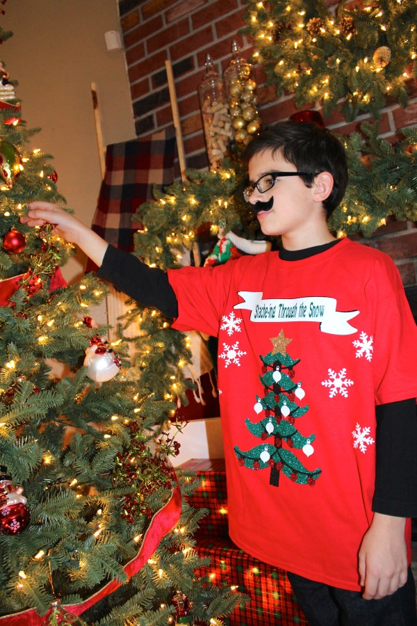 Everyday Party Magazine Simple DIY Ugly Sweater Shirt