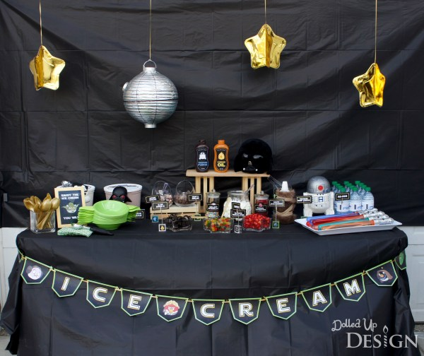 Everyday Party Magazine Star Wars Ice Cream Social by Dolled Up Design
