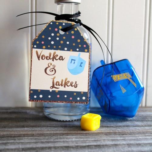 Everyday Party Magazine Free Hanukkah Printables - Vodka and Latkes