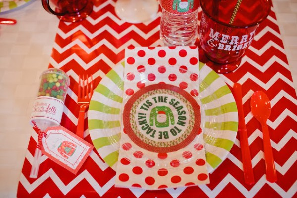 Everyday Party Magazine Ugly Sweater Party Printables party by 4Kids Cakes, photos by Stacy Jacobsen Photography