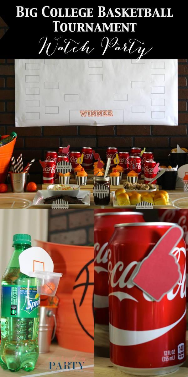 Everyday Party Magazine Big College Basketball Tournament Watch Party