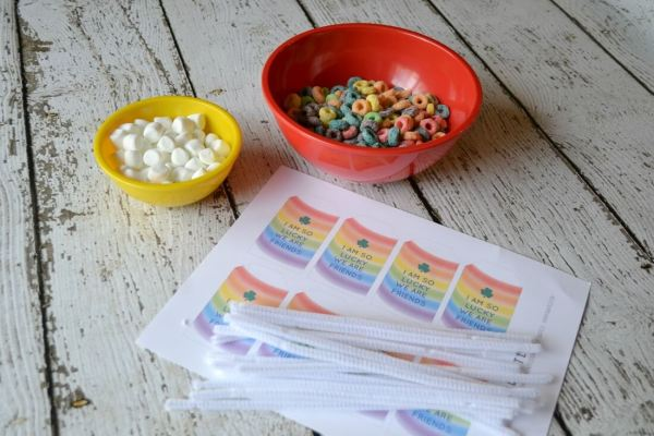 Everyday Party Magazine St. Patrick's Day Rainbow Treats by Sweet Threads Clothing Co.