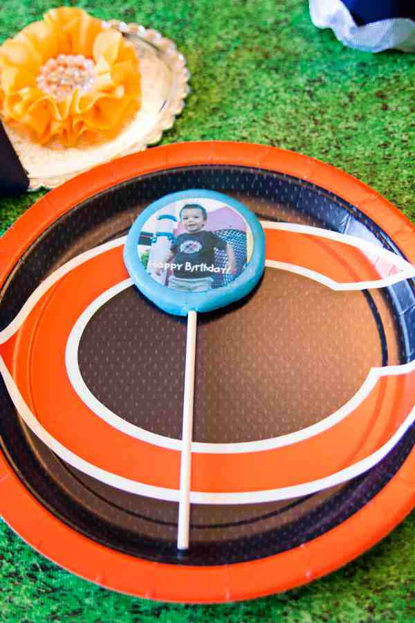 Everyday Party Magazine Football Birthday Party by Blessed Events - The Gift of Giving