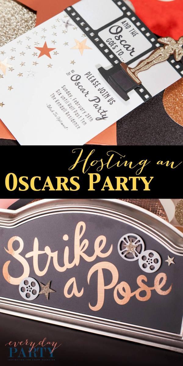 Oscars Party by Cricut on Everyday Party Magazine