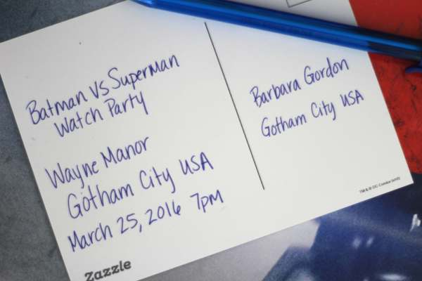 Everyday Party Magazine Batman vs Superman Viewing Party