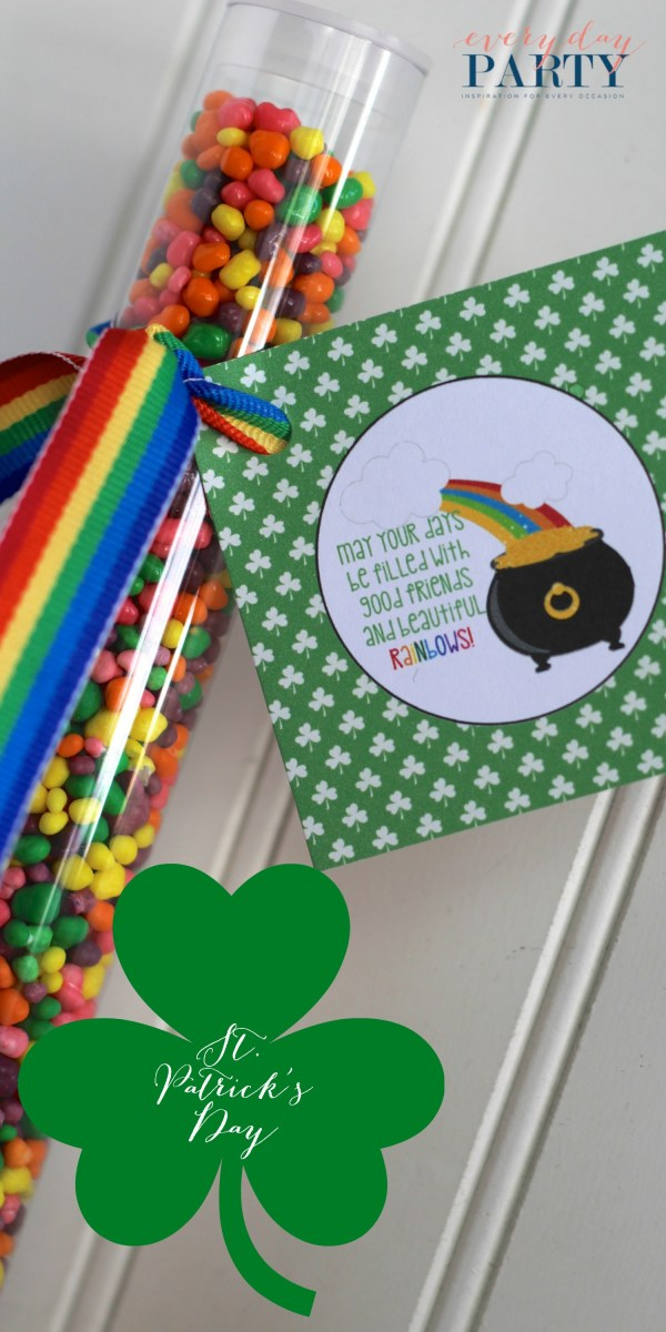 Everyday Party Magazine Free Printable St. Patrick's Day Tag