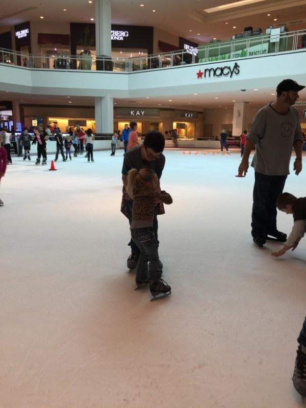Everyday Party Magazine Ice Skating Party