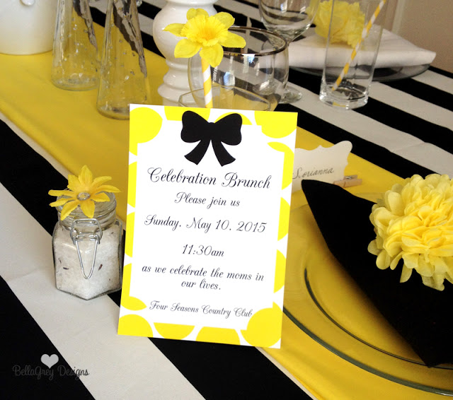 Everyday Party Magazine Mother's Day Brunch by BellaGrey Designs