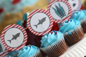 Everyday Party Magazine Shark Week Birthday Party