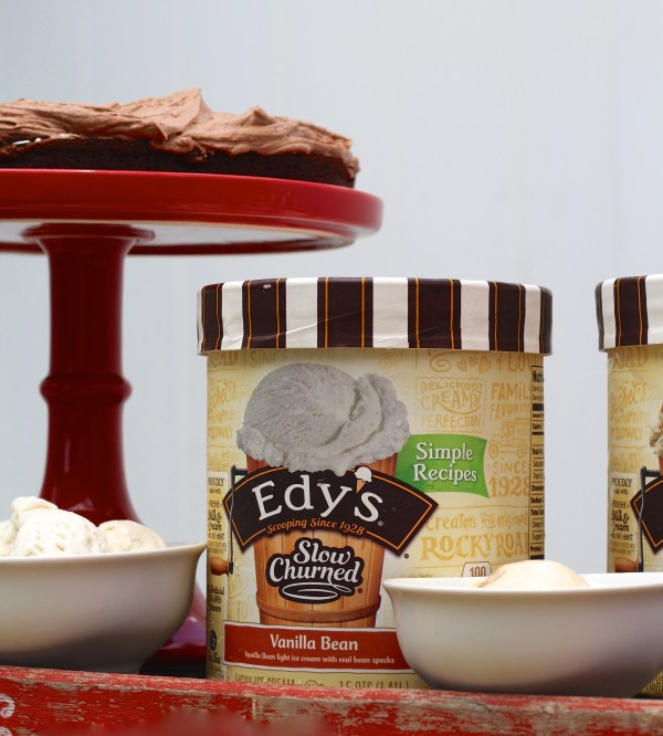 Everyday Party Magazine Sweeter Together Brownies and Ice Cream Dessert