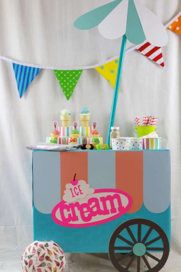 Everyday Party Magazine Ice Cream Party
