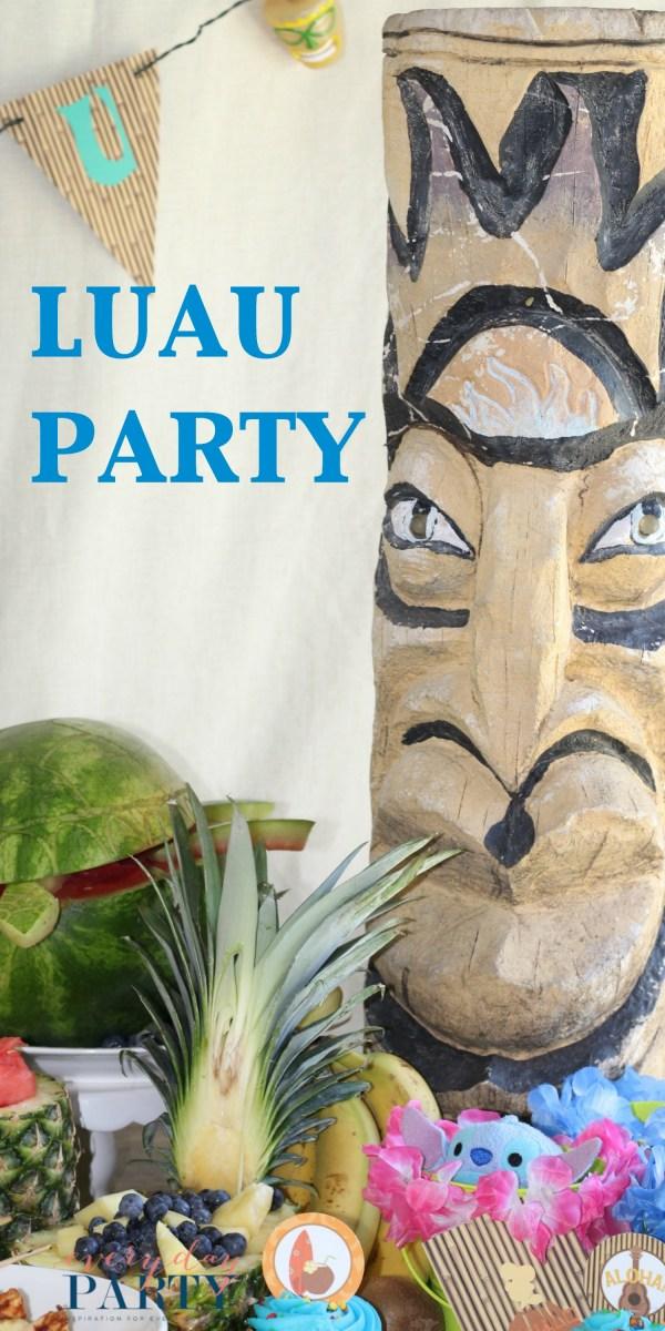 Everyday Party Magazine Luau Party