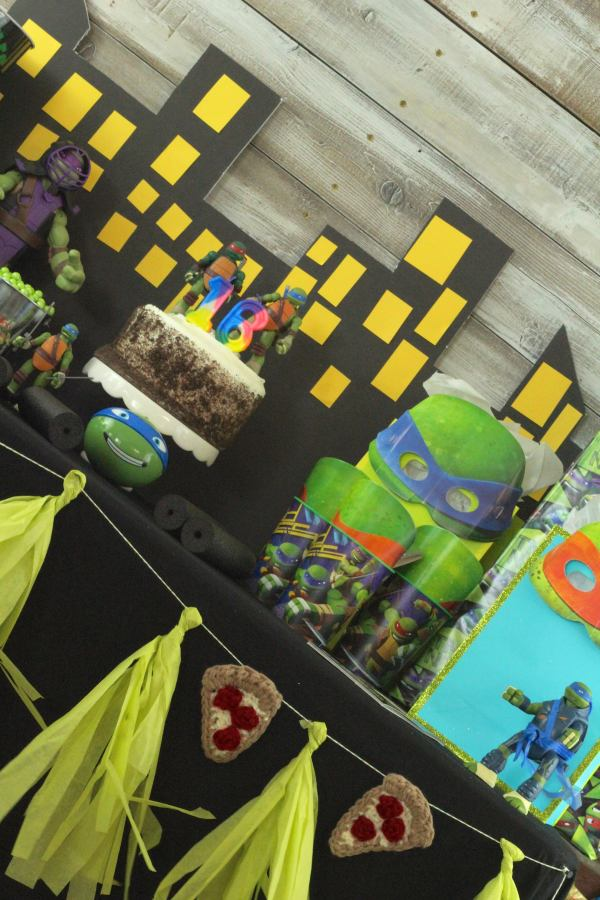 Everyday Party Magazine TMNT Birthday Party 40