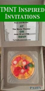 Everyday Party Magazine TMNT Inspired Invitation