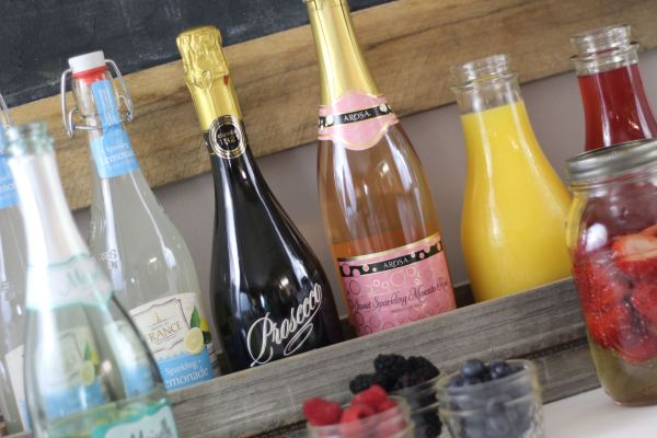Everyday Party Magazine Mimosa Bar