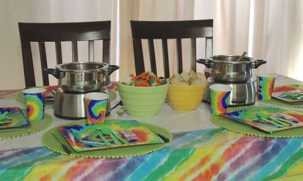 Everyday Party Magazine Groovy Fondue Party