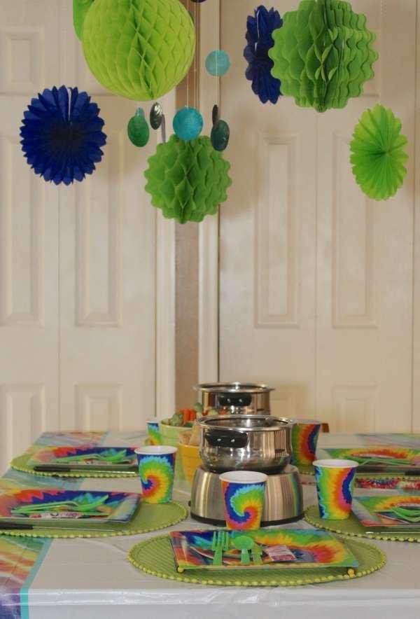 Everyday Party Magazine Groovy Fondue Party