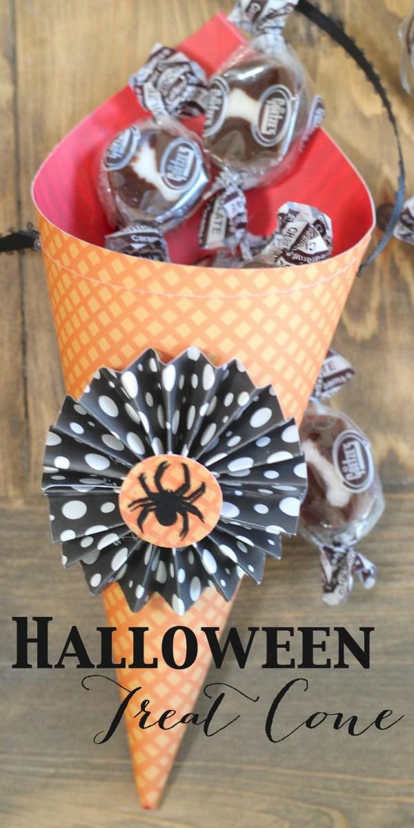 Everyday Party Magazine Simple Halloween Treat Cone