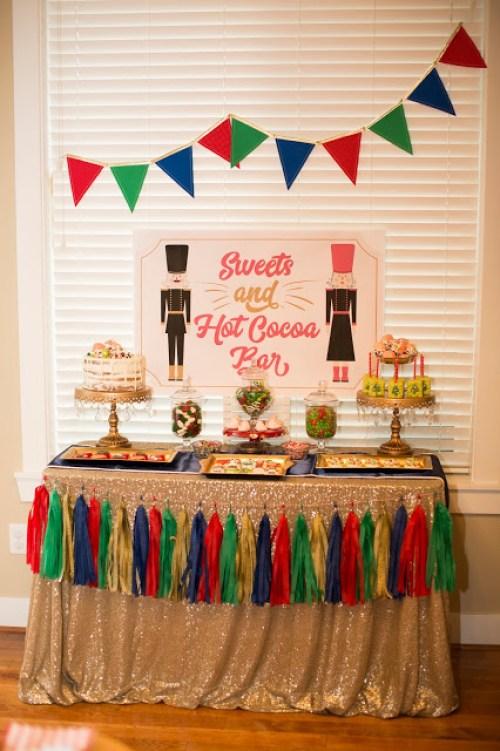 Everyday Party Magazine Nutcracker Party by 4KidsCakes