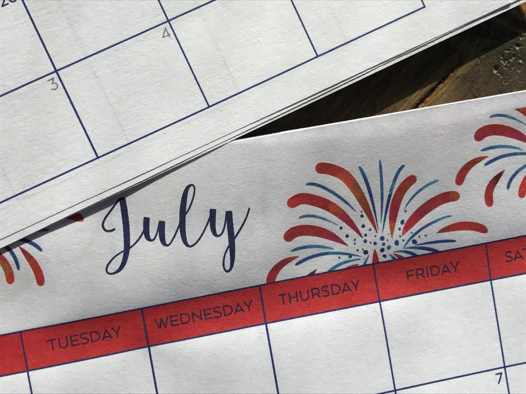 Everyday Party Magazine Free Printable Calendar 2017