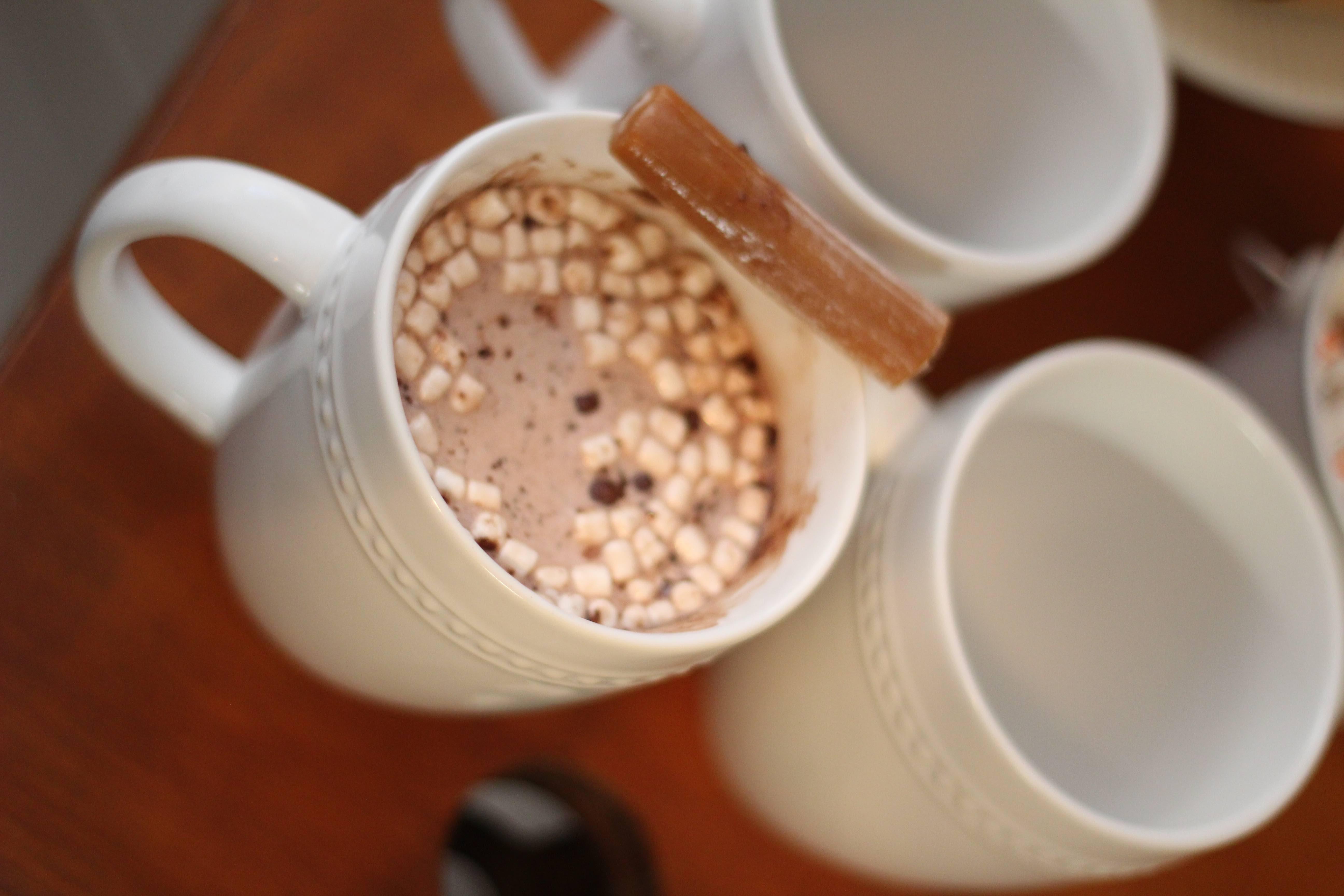 Everyday Party Magazine Caramel Cream Hot Cocoa