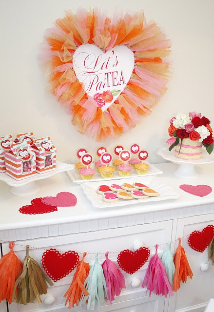 Everyday Party Magazine Valentine's Par-Tea by A Lovely Design