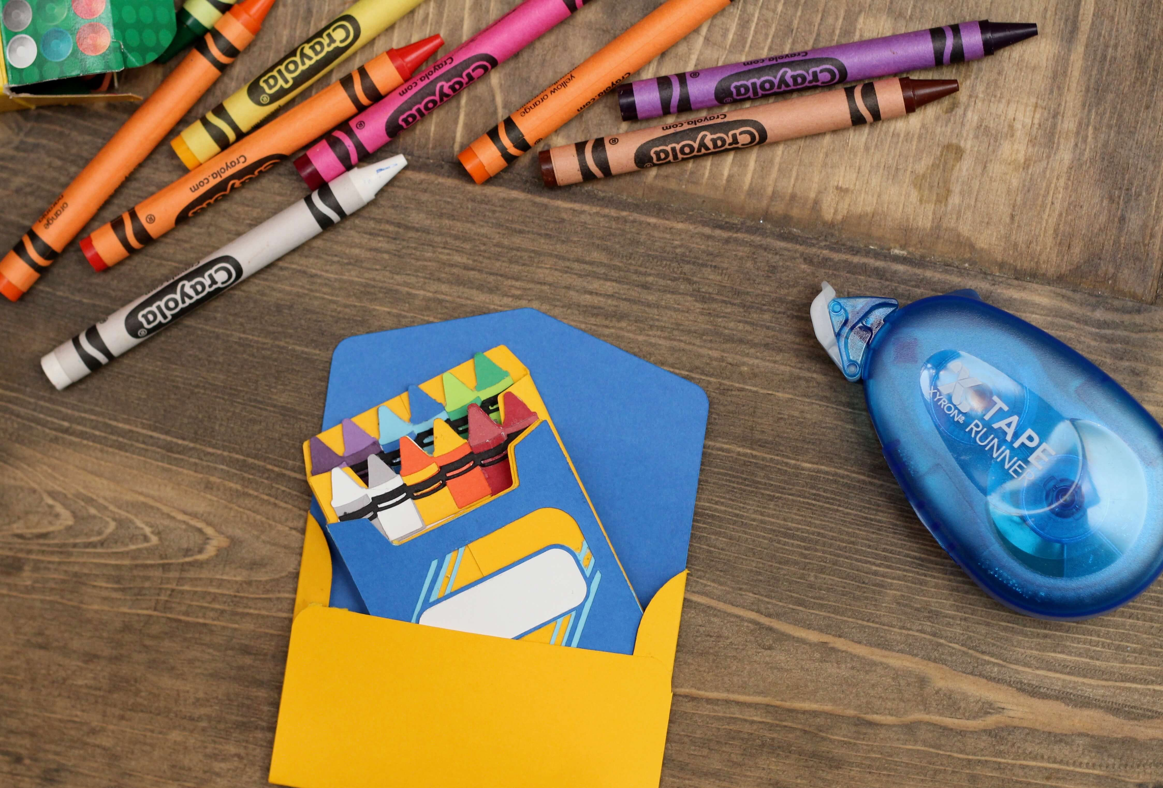Everyday Party Magazine Color Me Happy Card