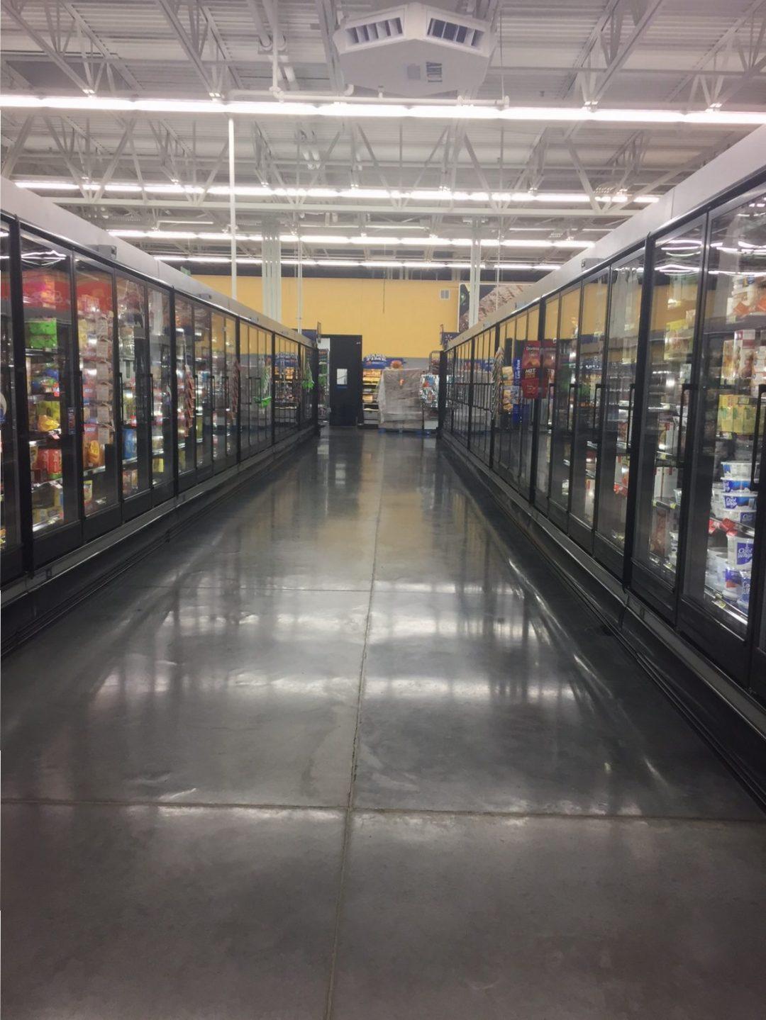Walmart Freezer Aisle 1