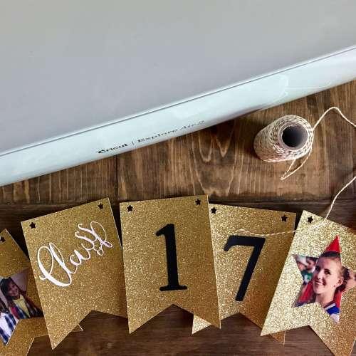 Everyday Party Magazine Graduation Banner DIY