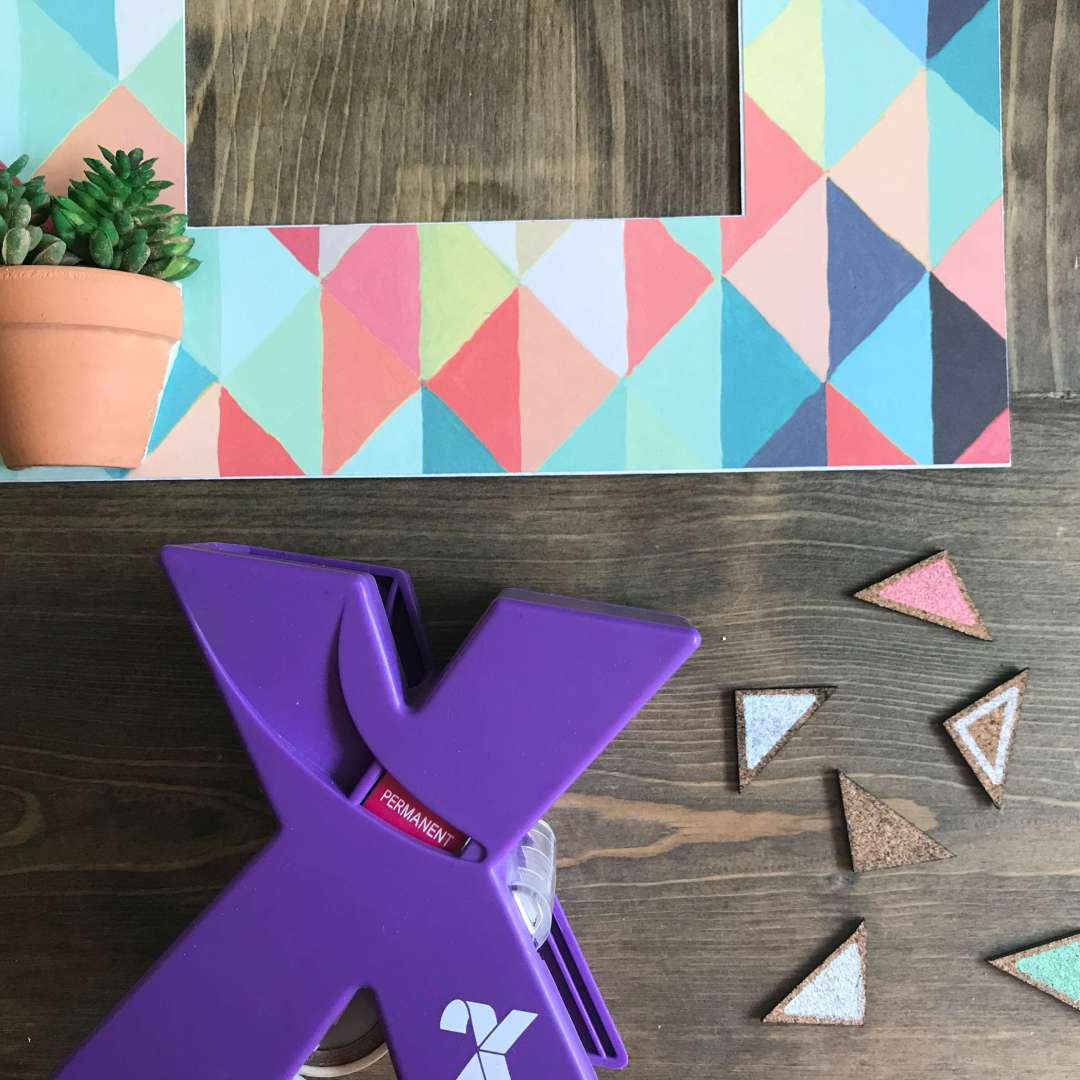 Everyday Party Magazine Shadow Box DIY