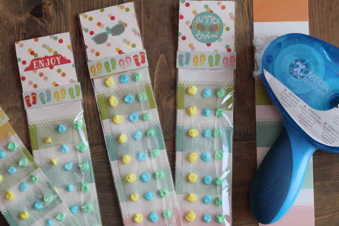 Summer Party Favors, Party Favor, Simple Stories, Xyron, Everyday Party Magazine