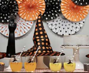 Everyday Party Magazine Polka Dot Halloween