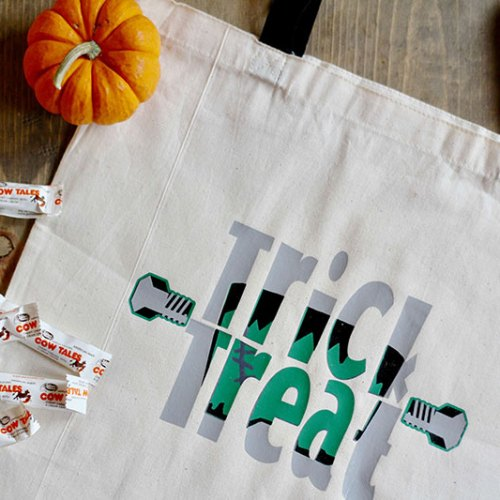 Everyday Party Magazine DIY Knockout Halloween Bag