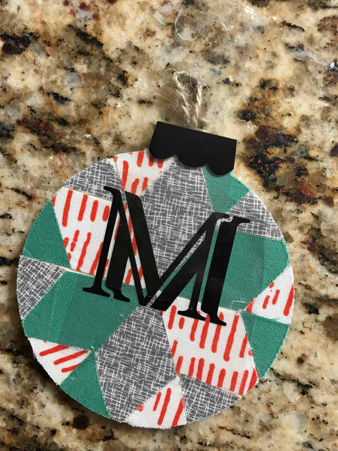 Everyday Party Magazine Quilted Ornament DIY