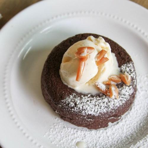 Everyday Party Magazine Chocolate Caramel Cream Lava Cake #dessert #LavaCake #CowTales @CowTales