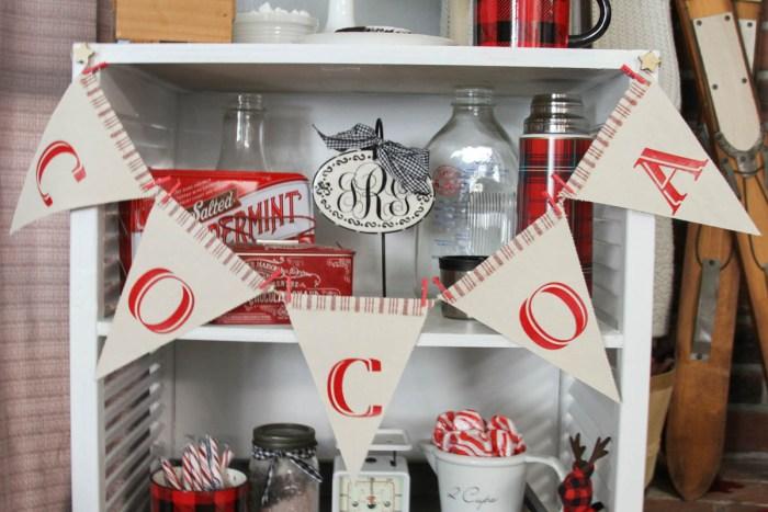 Everyday Party Magazine Winter Cocoa Party #HotCocoa#BuffaloPlaid #Winter #Party