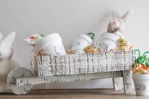 Everyday Party Magazine Garden Easter Gift #Garden #DIY #RaeDunn #Xyron #Cricut #CraftLightning