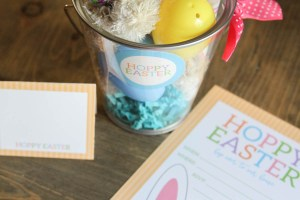 Everyday Party Magazine Hoppy Easter Party #Easter #PartyPrintables #KidsParty