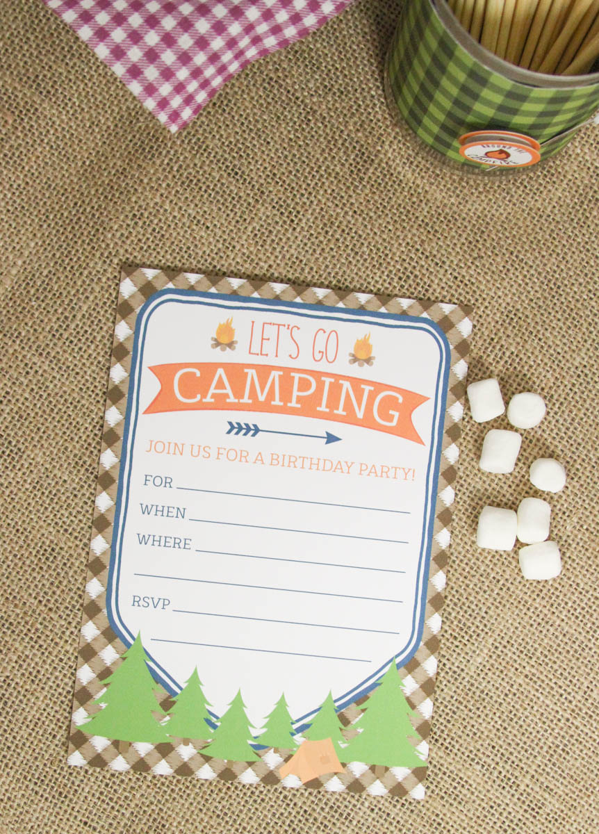 Everyday Party Magazine Plaid Camping Party #CampingParty #Plaid #Rustic #KidsPartyEveryday Party Magazine Plaid Camping Party #CampingParty #Plaid #Rustic #KidsParty