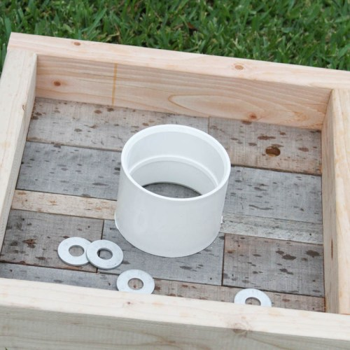 Everyday Party Magazine DIY Washer Toss Game #DIY #Washers #WasherToss #BackyardGames
