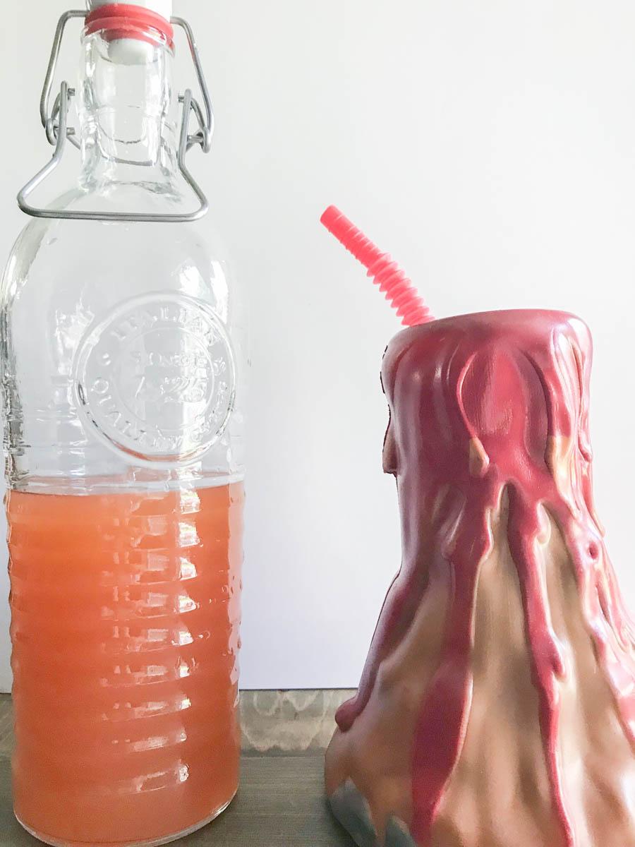 Everyday Party Magazine Erupting Mai Tai Recipe #Drink #DrinkRecipe #Tropical #MaiTai