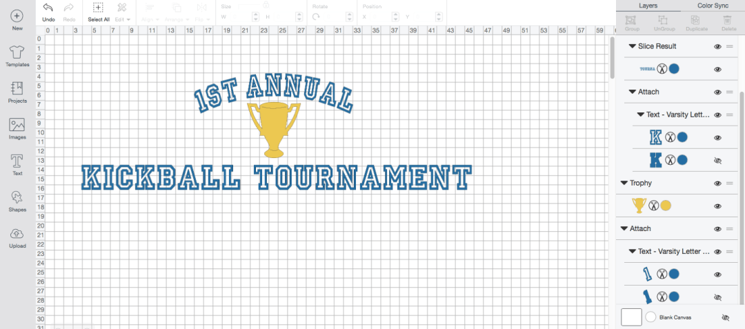 Make this oversized Kickball Tournament Banner by Everyday Party Magazine with a few easy steps! #CricutMade #EasyPress