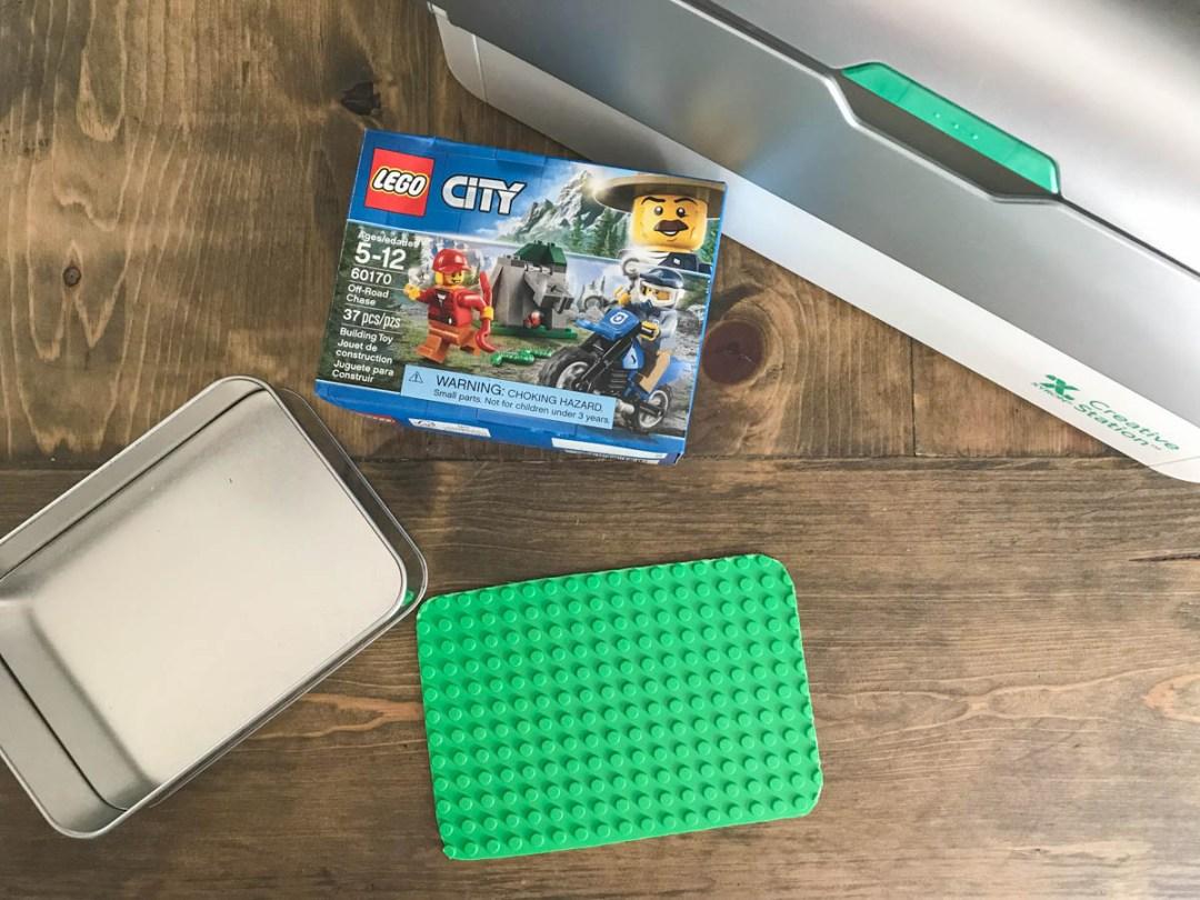 Legos ClearSnap Box Xyron Creative Station