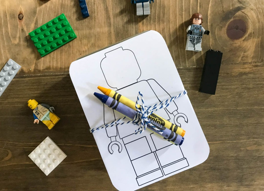 LEGOs LEGO MiniFigs Lego Coloring Page Crayola Crayons
