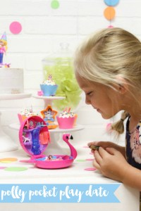 Polly Pocket Toys Girls Party
